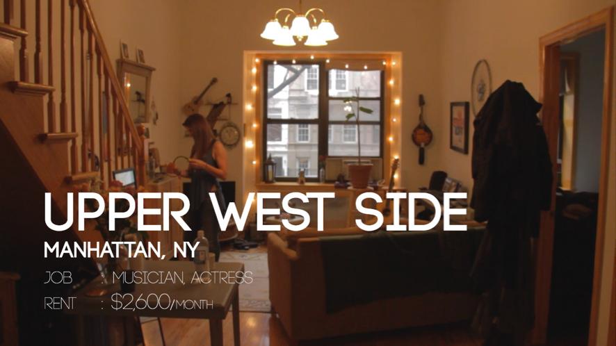 ニューヨーク・マンハッタン在住、女優のお家をご紹介!【NY生活】