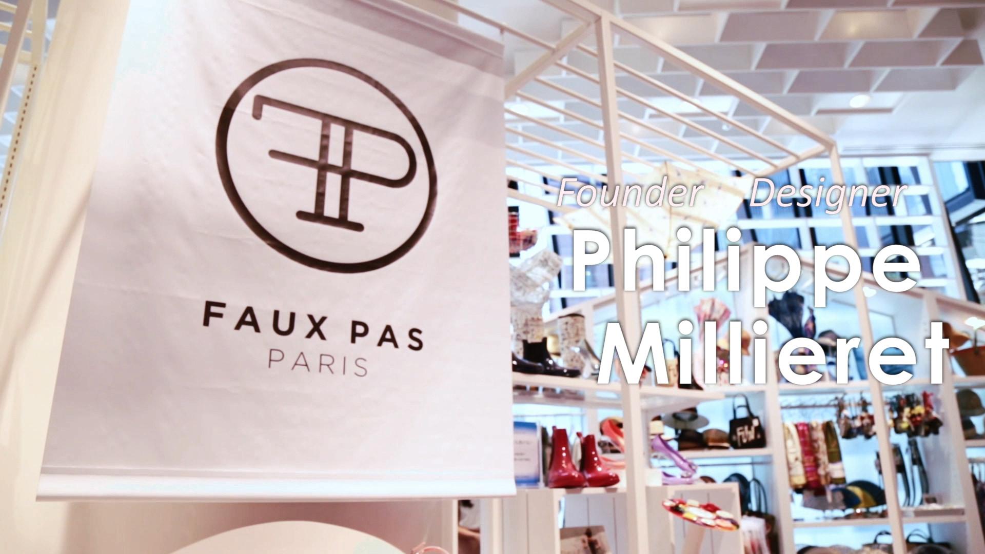 【Paris発】シューズブランド『Faux Pas Paris』デザイナーに聞いたブランド誕生秘話