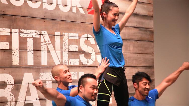 中村アンも挑戦!「リーボック フィットネス バトルレース」が今秋初開催