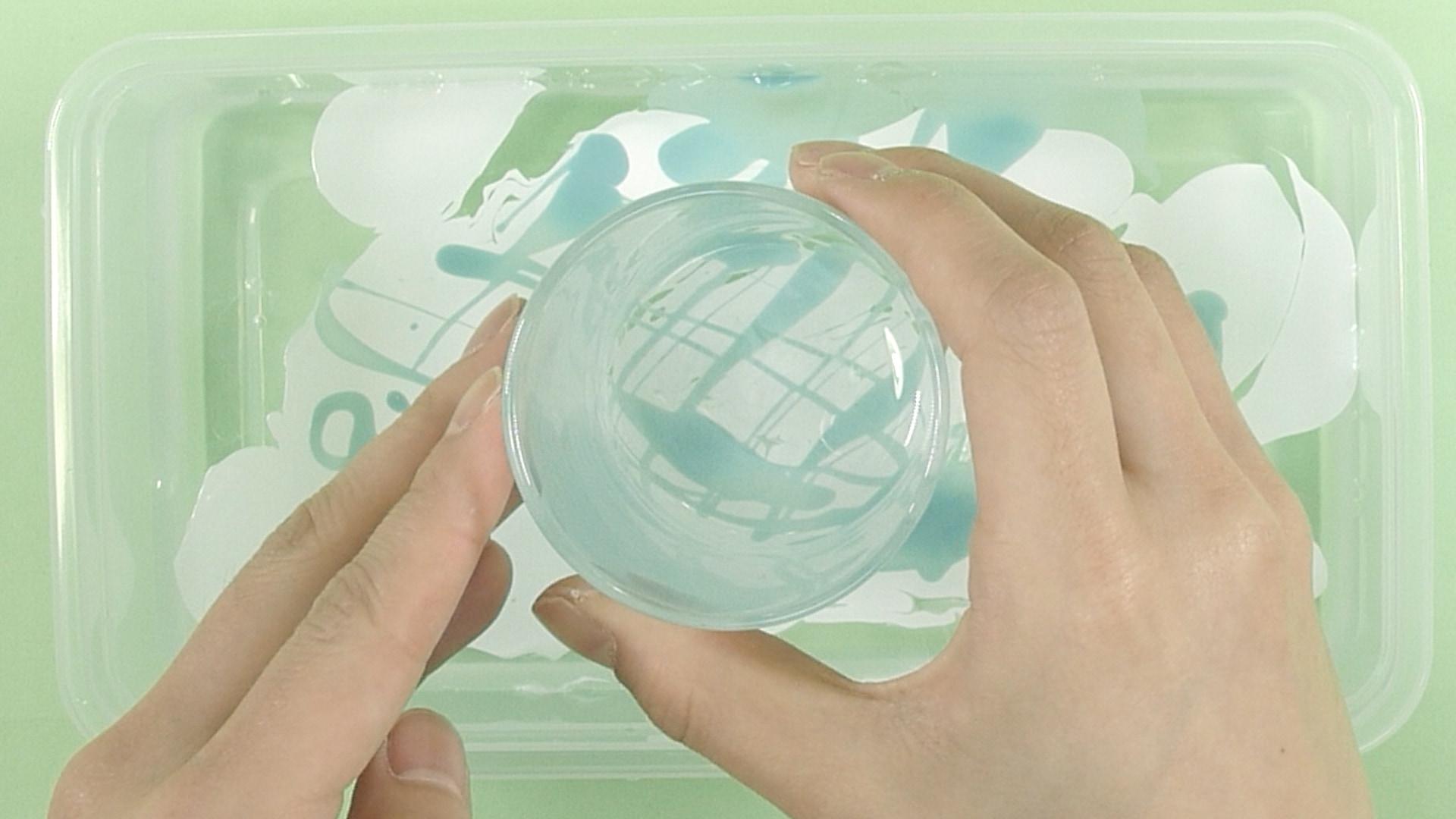 【DIY】可愛いカラフルマーブルグラス
