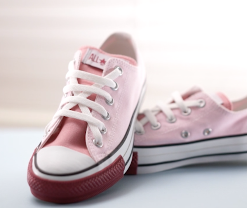 【DIY】CONVERSEの靴紐の結び方アレンジ#3
