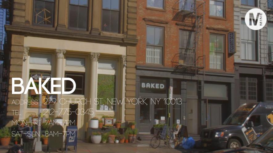 トライベッカにあるオシャレで可愛いカフェBAKED @NY