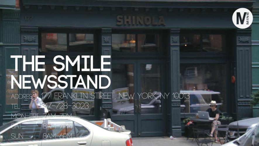 地域のコミュニティを大事にしている小さなオシャレカフェThe Smile@,NY