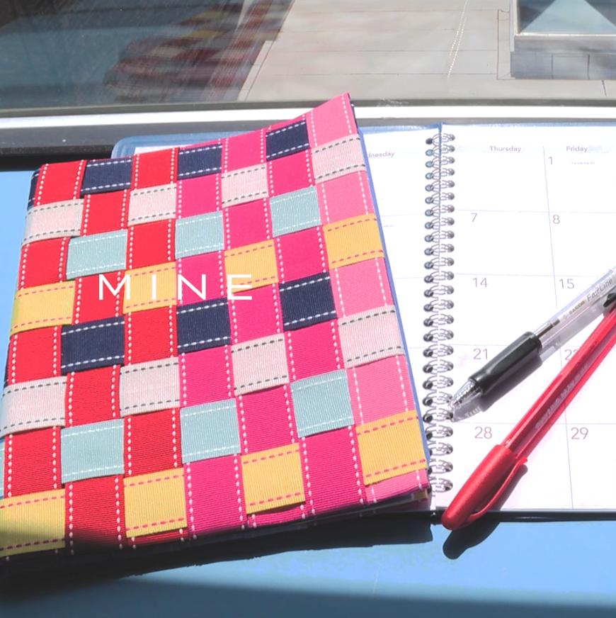 【DIY】脱マンネリ化!手帳をリボンでデコレーション