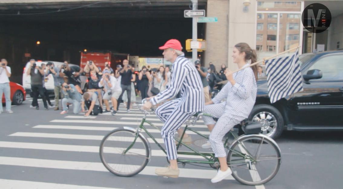 【New York Fashion Week】3.1 Phillip Limのファッションショー前でパパラッチ