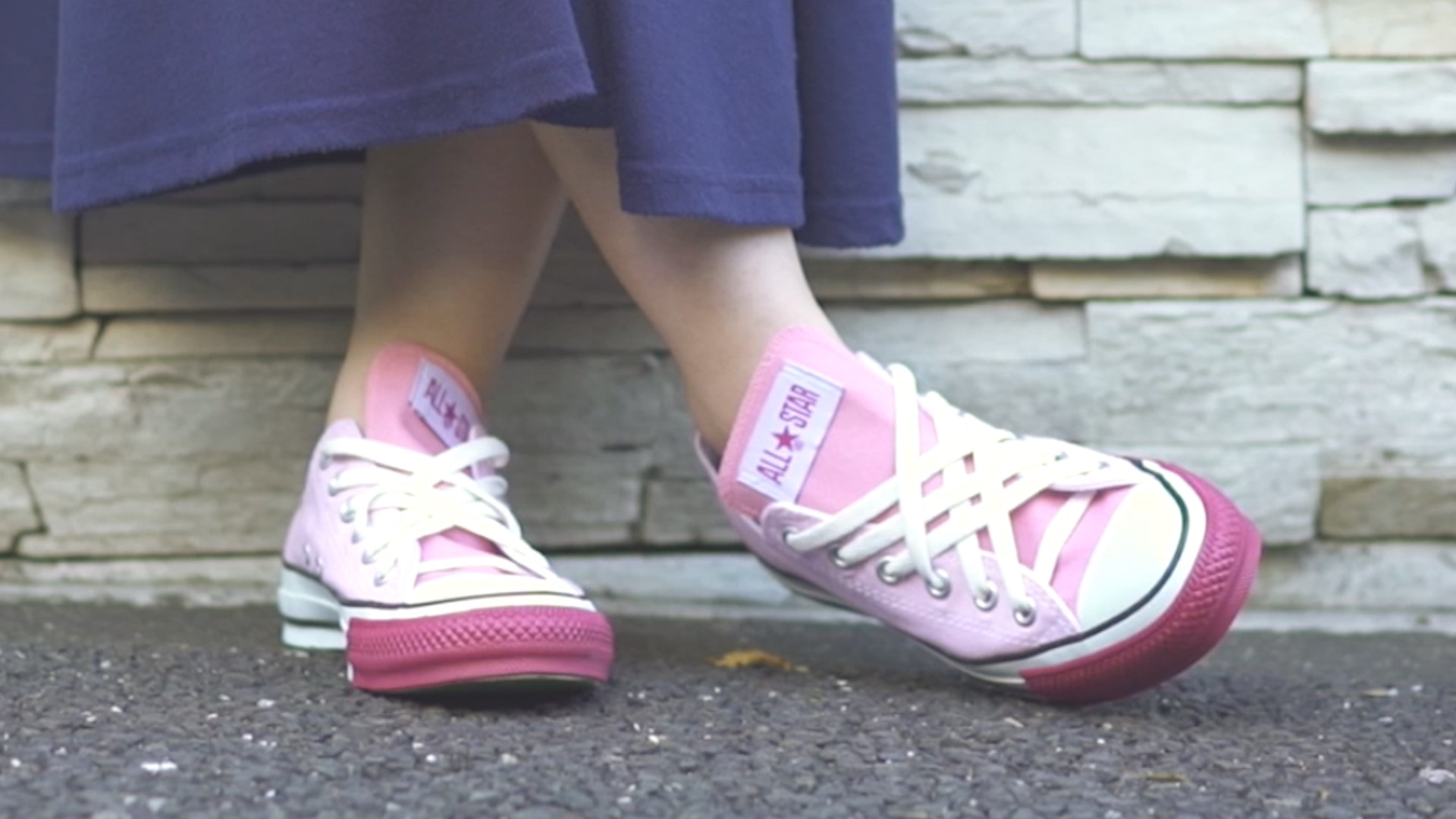【DIY】CONVERSEの靴紐の結び方アレンジ#4