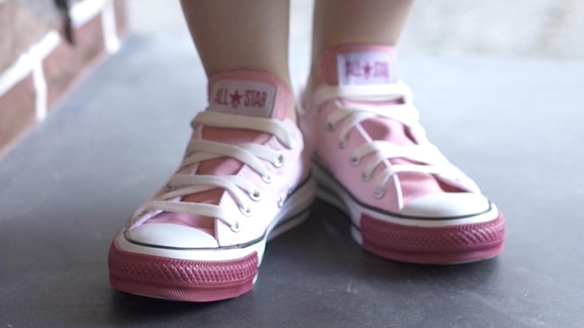 【DIY】CONVERSEの靴紐の結び方アレンジ #5