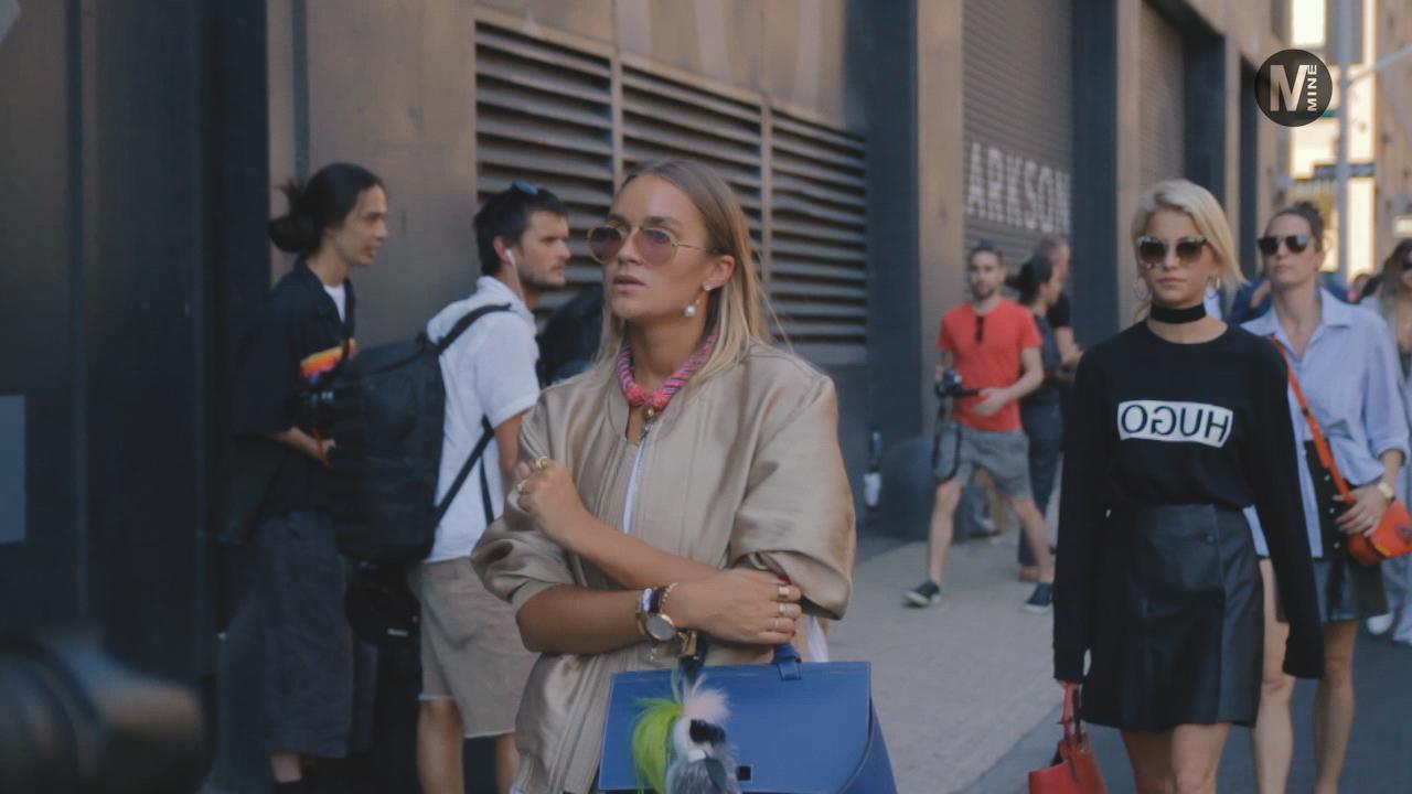 【New York Fashion Week】Boss Womenのファッションショー前でパパラッチ Part 1