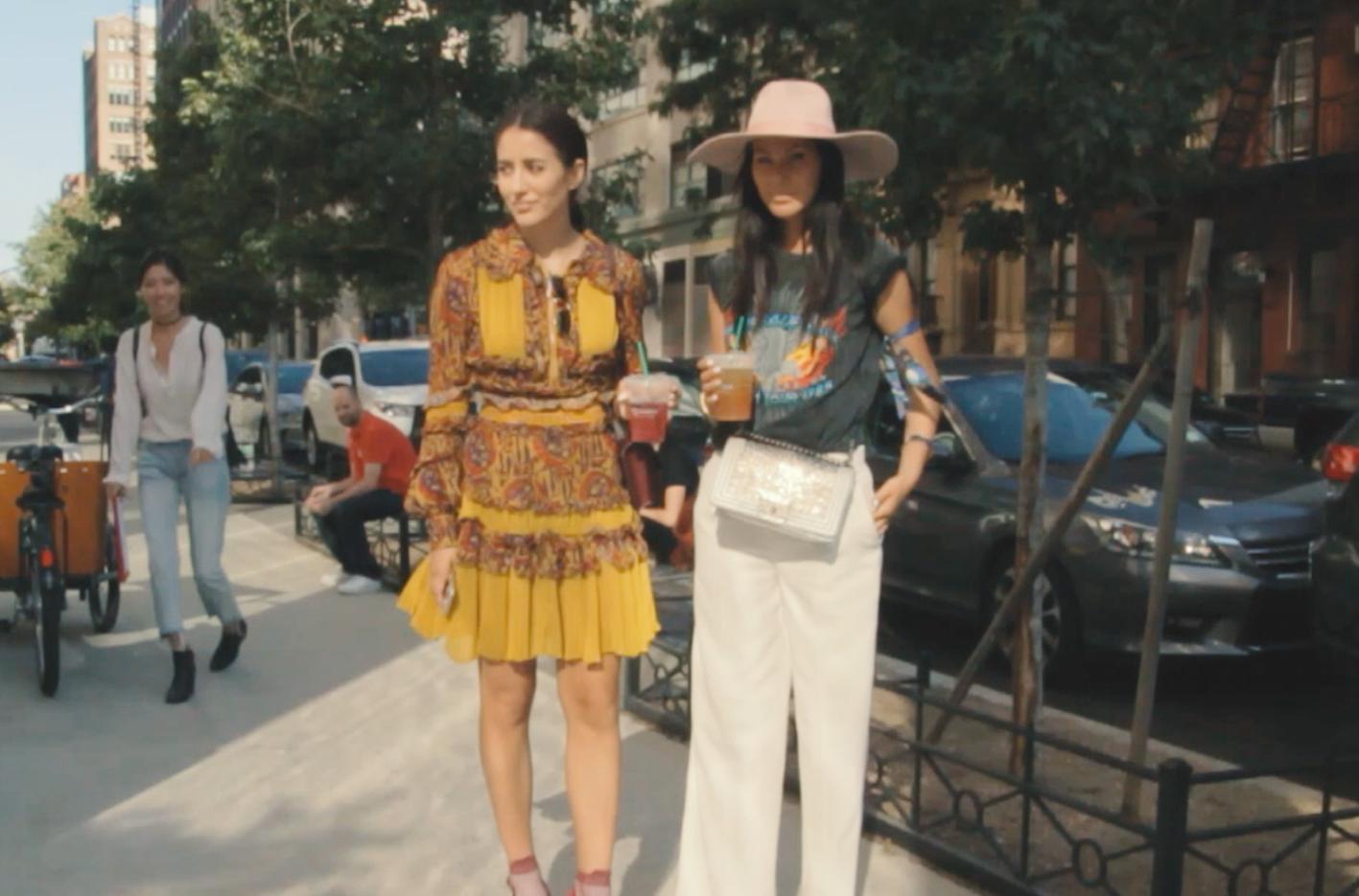 【New York Fashion Week】バラエティー豊かなニューヨーカーたちのTシャツコーディネート特集