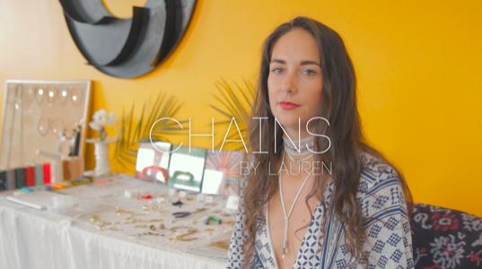 """ニューヨークのハンドメイドアクセサリーブランド""""Chains by Lauren"""""""