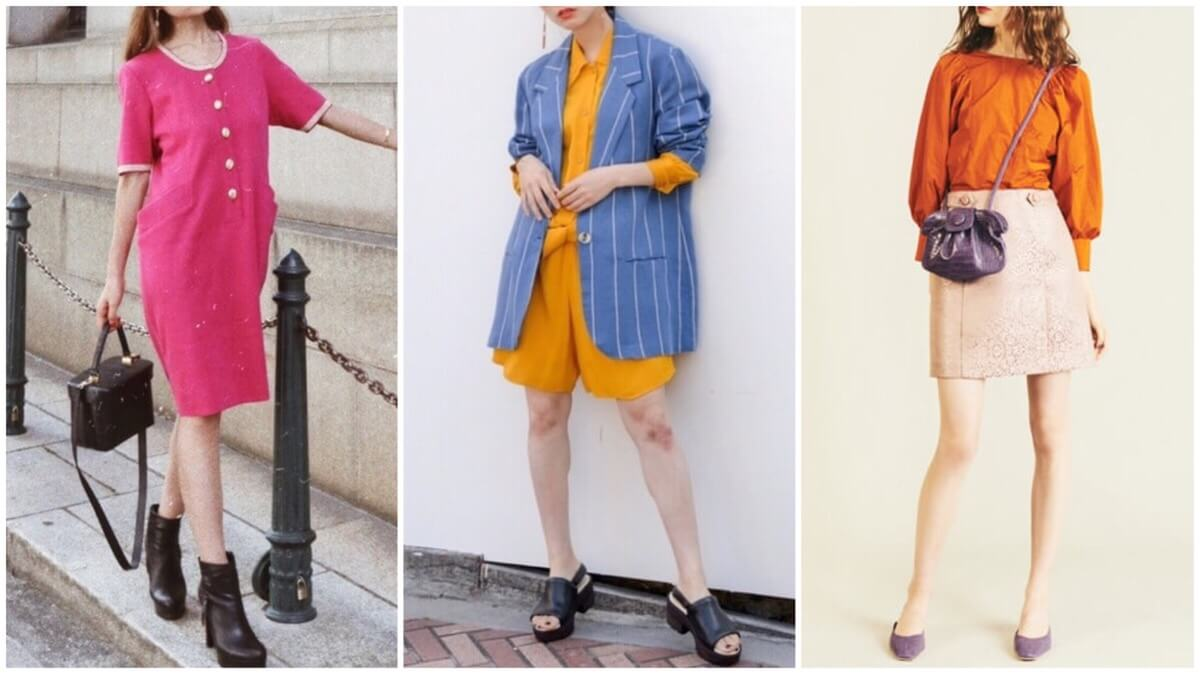 レトロ 60 年代 ファッション