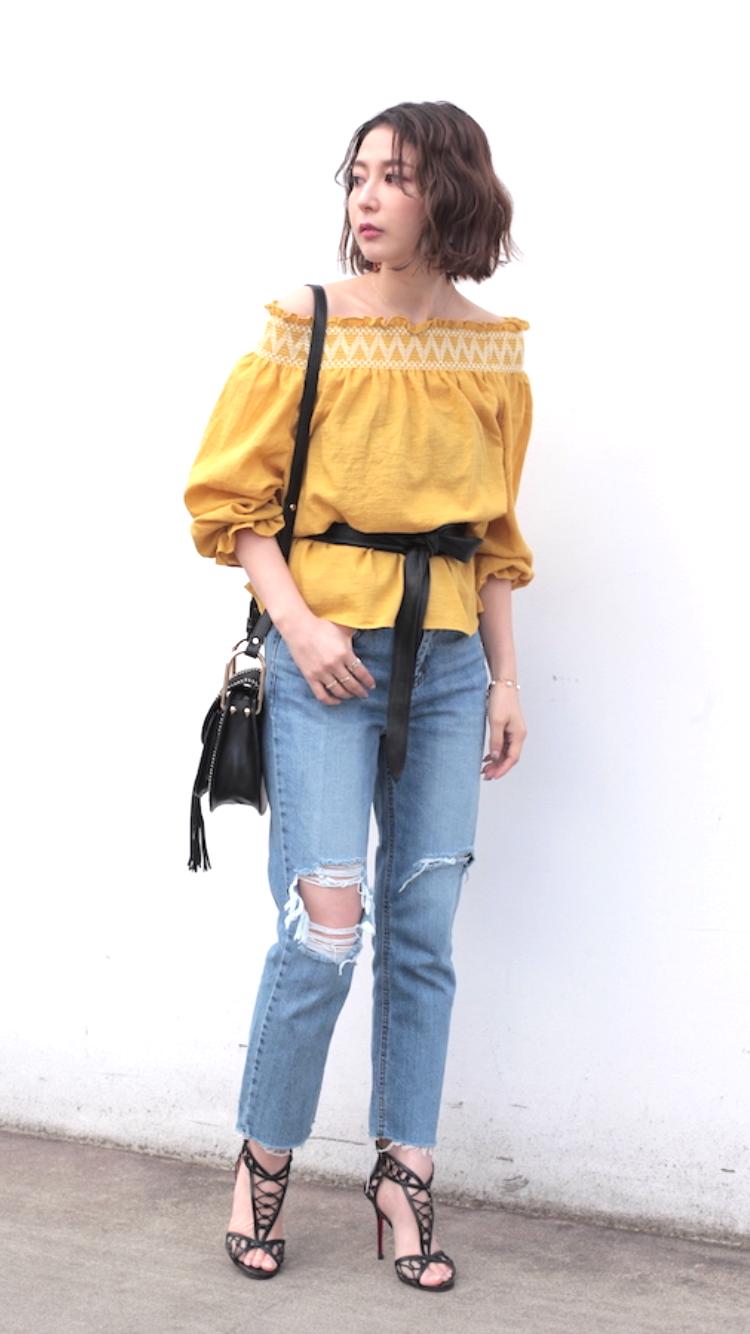 カラーアイテムファッション/仲村美香