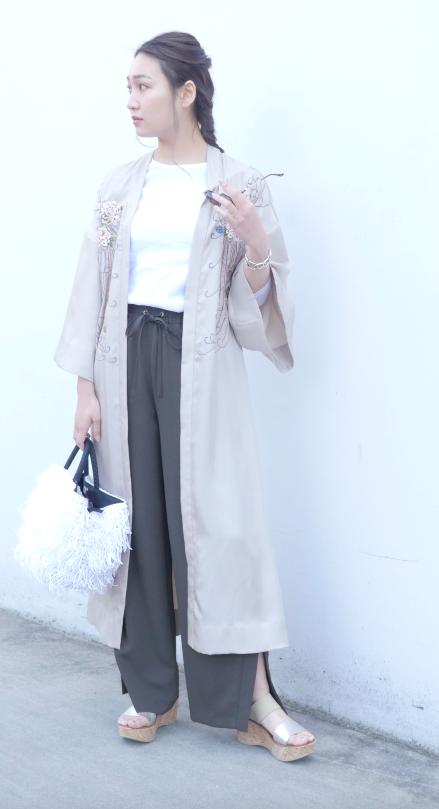 薄軽アウターcasual style#2