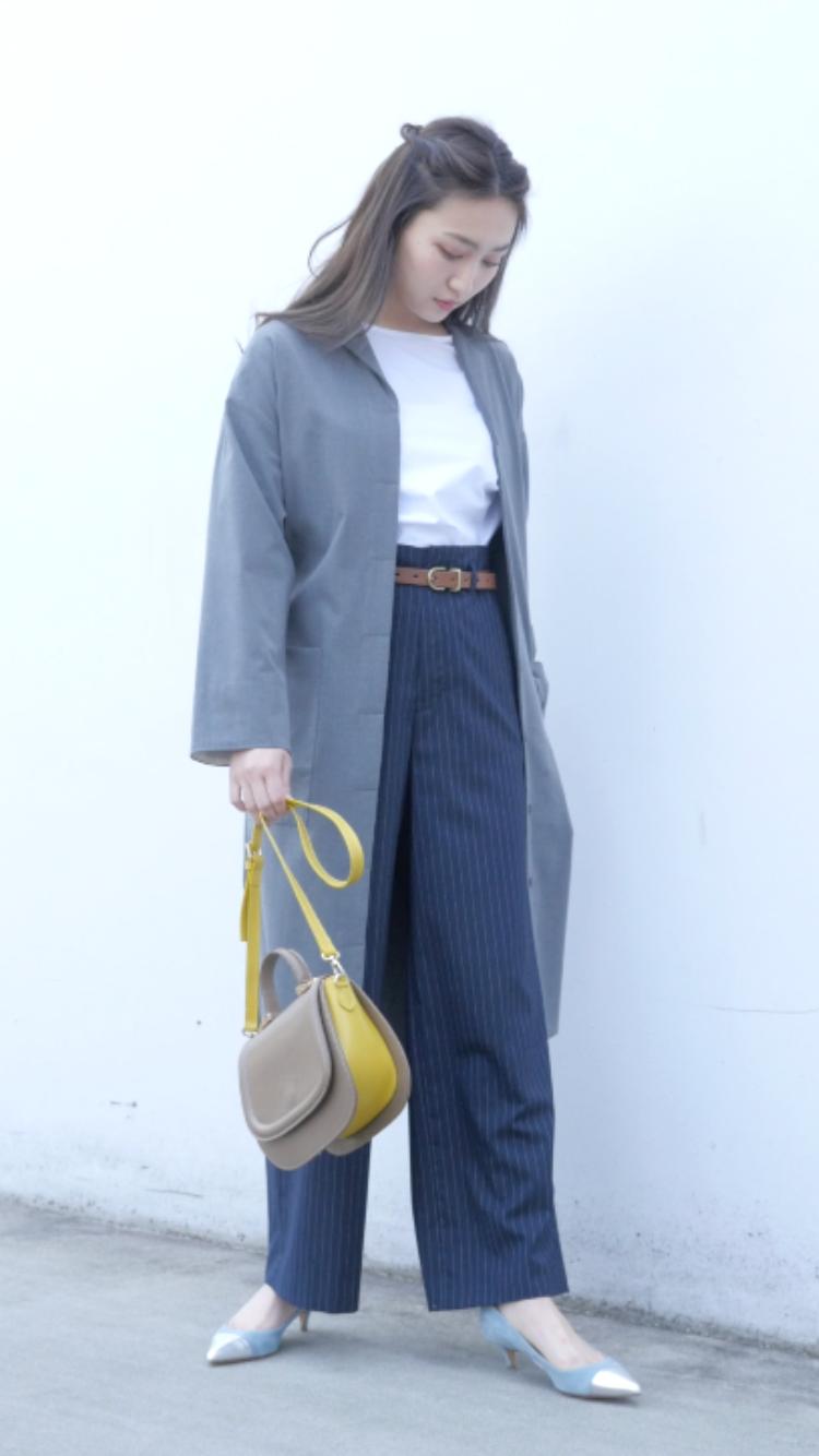 薄軽アウターoffice style#3