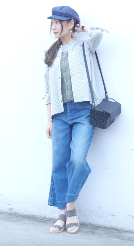 薄軽アウターcasual style#3