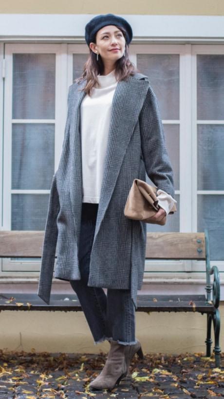 羽織るだけでおしゃれに決まる、今季注目のガウンコートが欲しい!