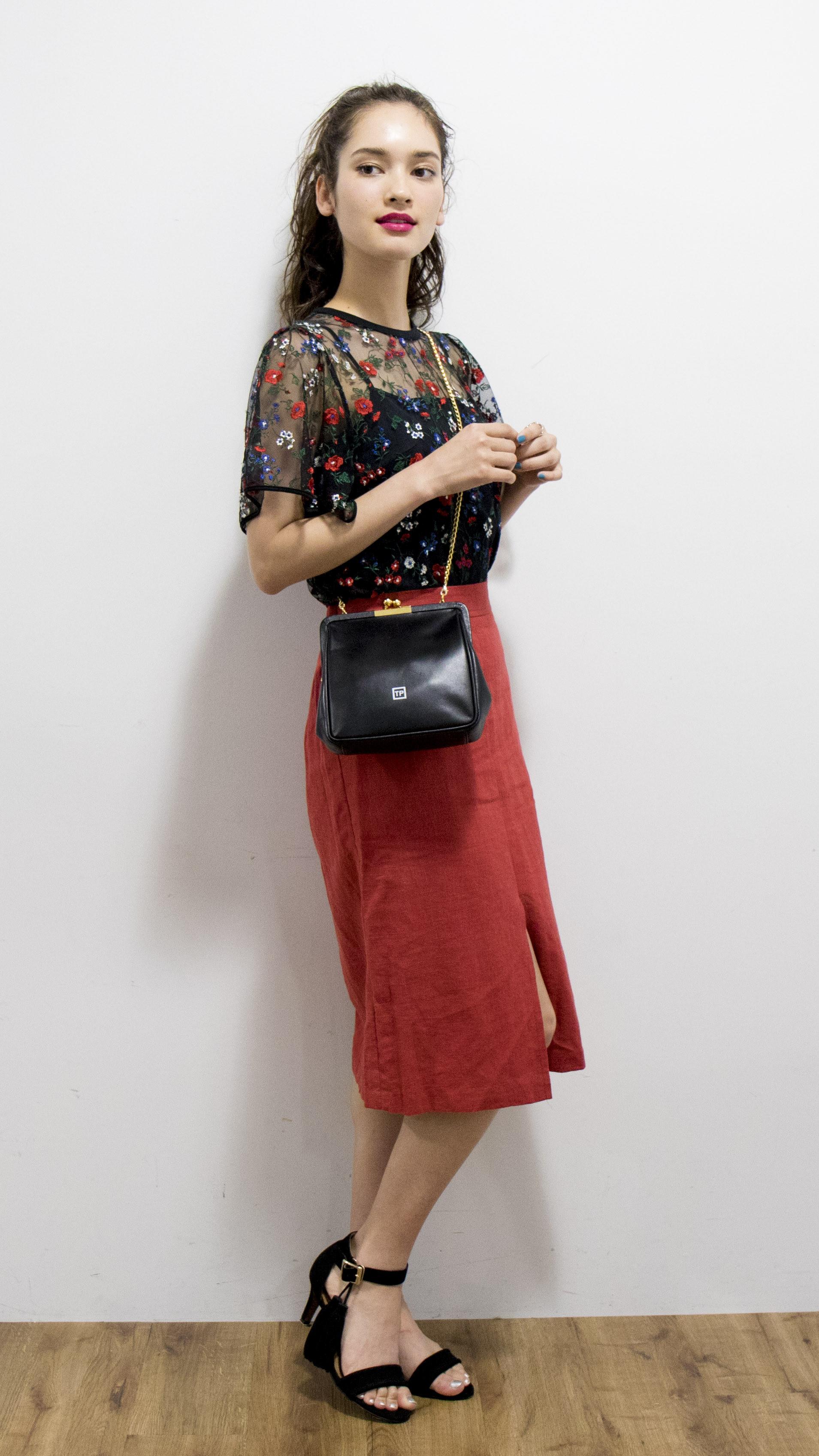 夜遊びファッション〜スカートスタイル〜