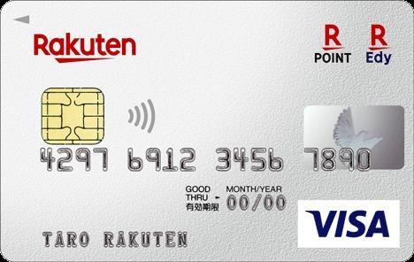 楽天カードのカード画像