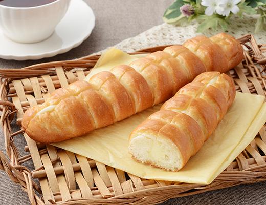 ちぎれるミルクフランス 発酵バター入りクリーム使用