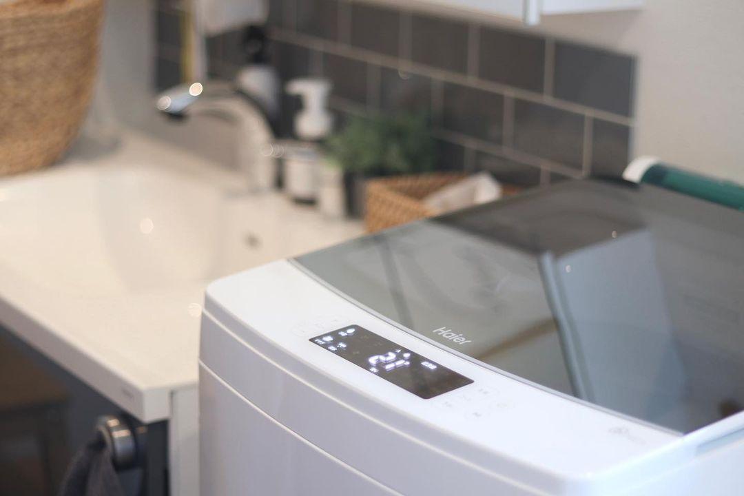 ハイアールの縦型洗濯機
