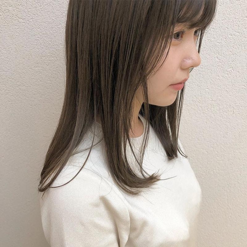 髪 ブルベ 色 夏