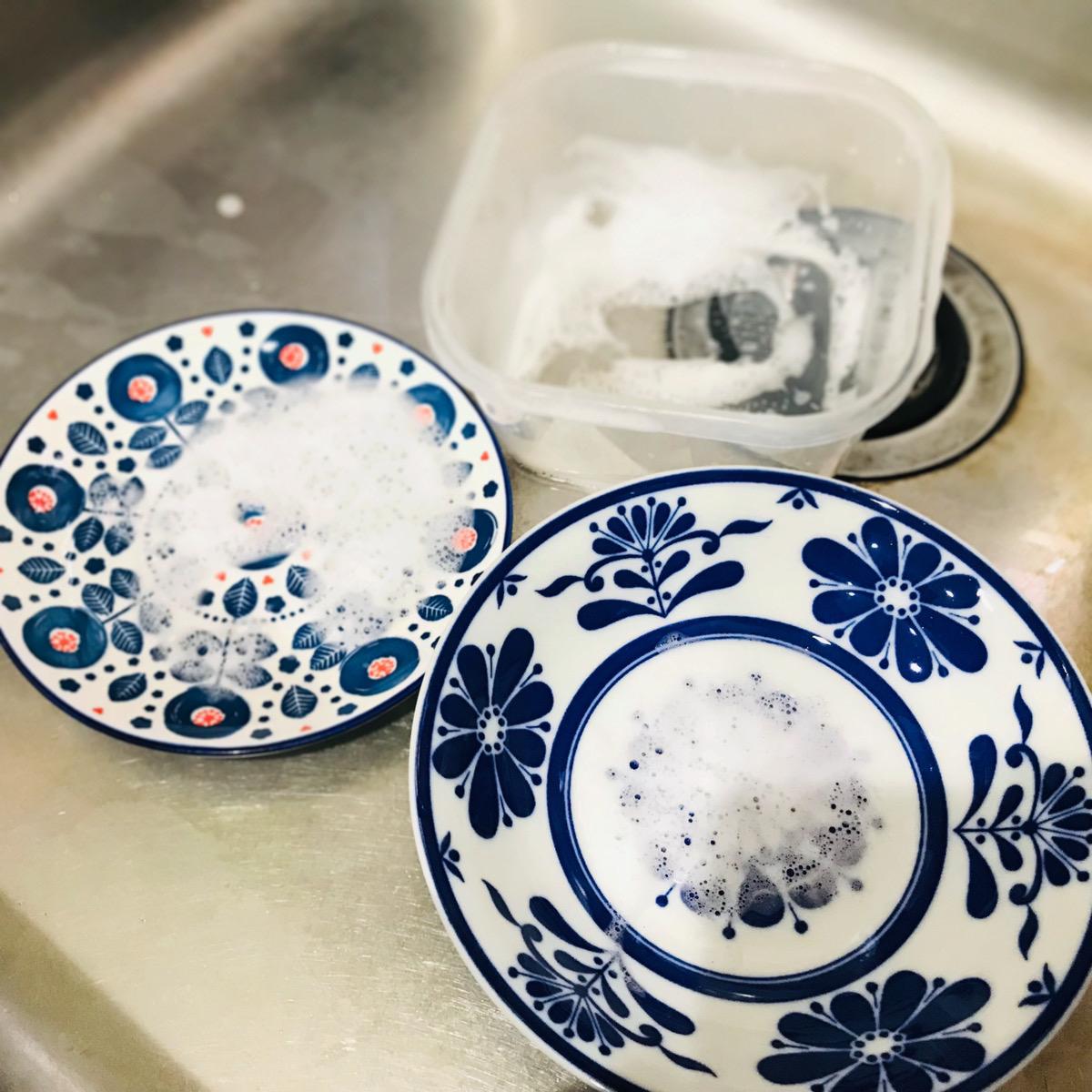 汚れの少ないものから洗う