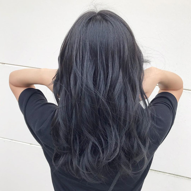 ブルー なし ネイビー ブリーチ 【2020トレンド】大人気流行ブルージュ、ネイビー(青髪)!!ブルー系ヘアカラーで赤みを消して透明感を出そう!|カラー