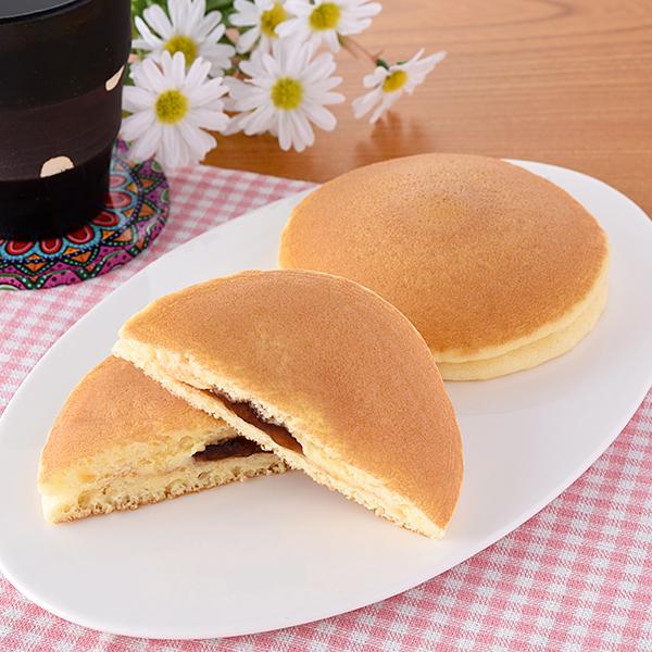 ふんわりおいしい!ホットケーキ(メープル&マーガリン)