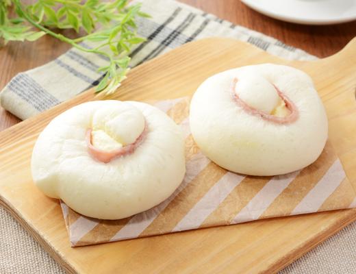 NL 糖質オフのふっくらパン チーズとハム(2個入り)