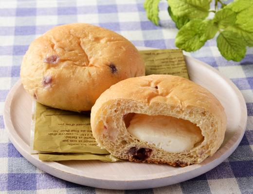 NL もち麦ぱんチーズクリーム&ダブルベリー(2個入り)
