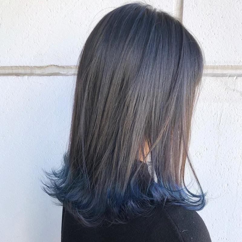 毛 先 だけ 染める セルフ やり方 バレイヤージュとはどんなヘアカラー?毛先だけ染めるセルフのやり方...
