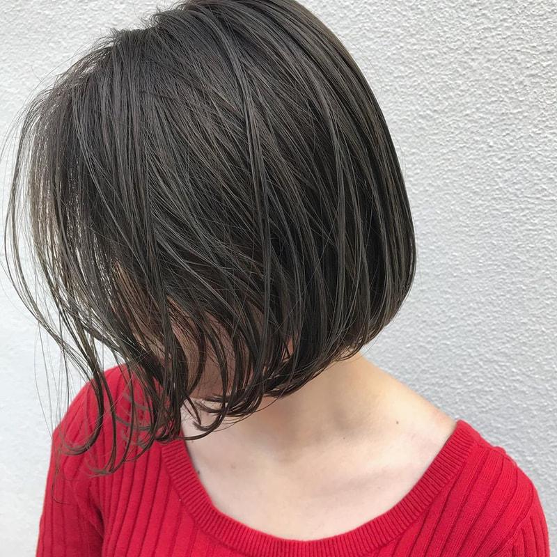 伸ばしかけボブ だってオシャレにきまる 前髪セットや簡単アレンジで