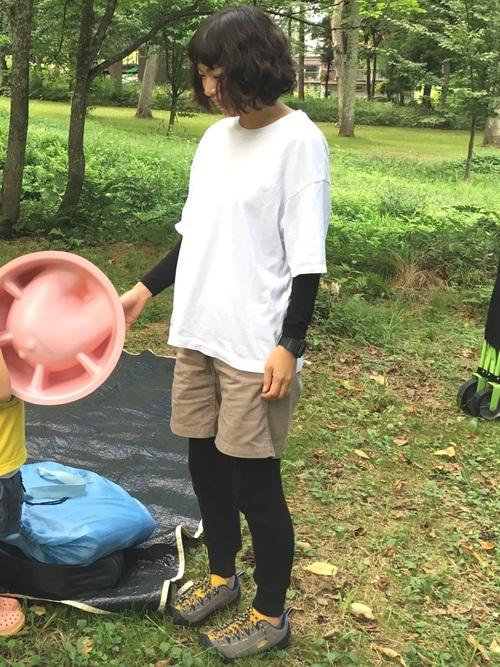 ファッション レディース キャンプ
