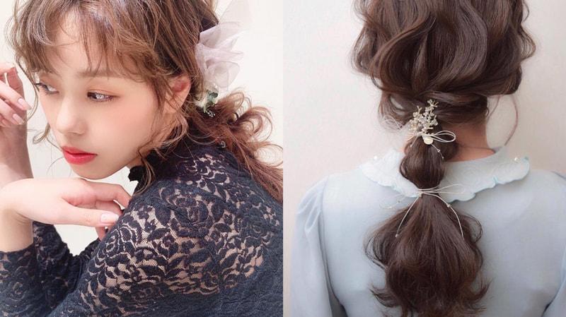 お 葬式 髪型 ロング