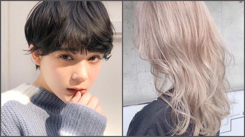 ブルベ冬・ウィンタータイプ】に似合う髪色は?暗め・明るめの