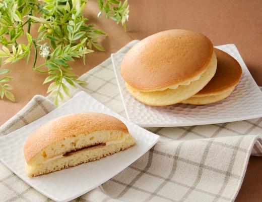 ふわふわホットケーキ 国産小麦粉使用(2個入り)