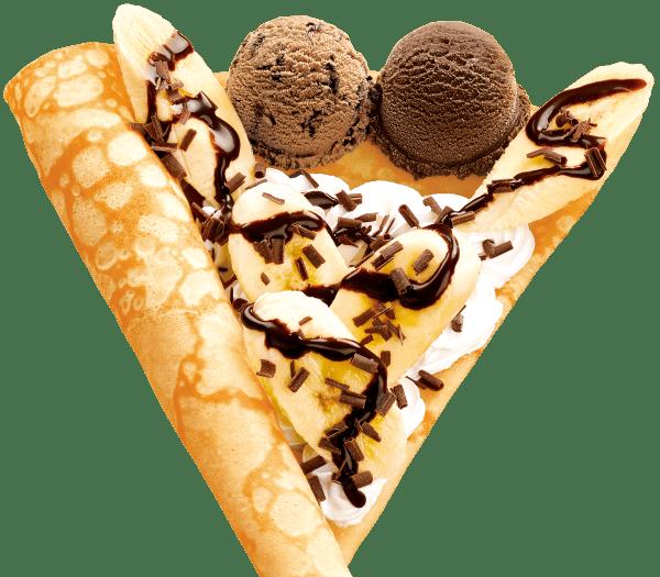 アイスクリーム クレープ プレミアム