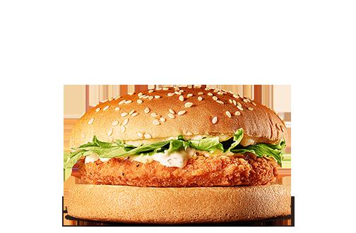 バーガーキングのタルタルチキンバーガー