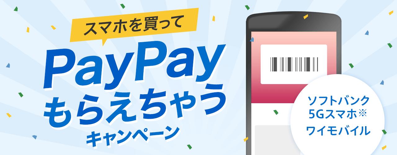 PayPayもらえるキャンペーン中