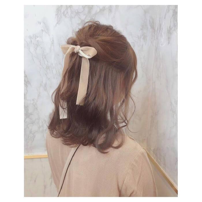 な 可愛い 髪型 簡単
