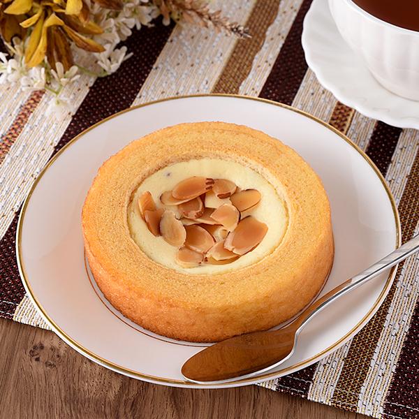 しっとり食感のチーズケーキバウム レーズン&アーモンド