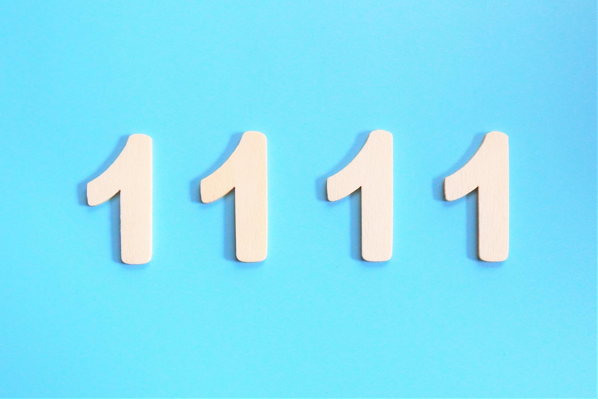 エンジェルナンバー1111の意味とは?