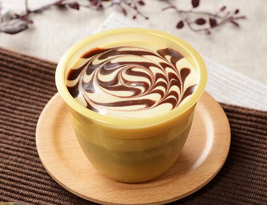 チョコキャラメルプリン