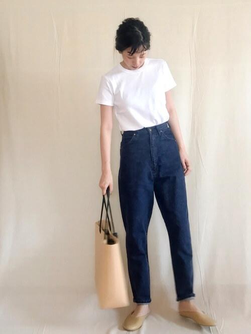 「パリジェンヌ ファッション」ワードローブのTシャツの画像