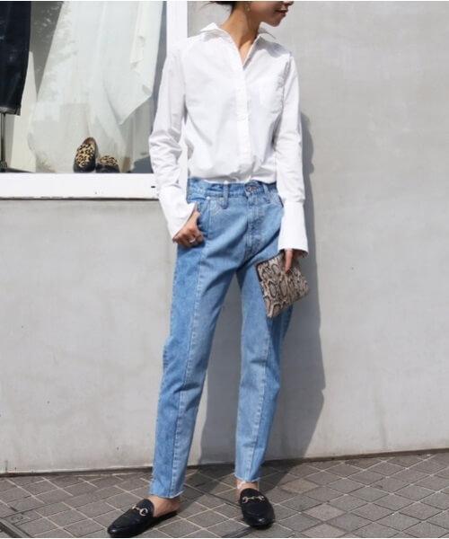 「パリジェンヌ ファッション」ワードローブのシャツの画像