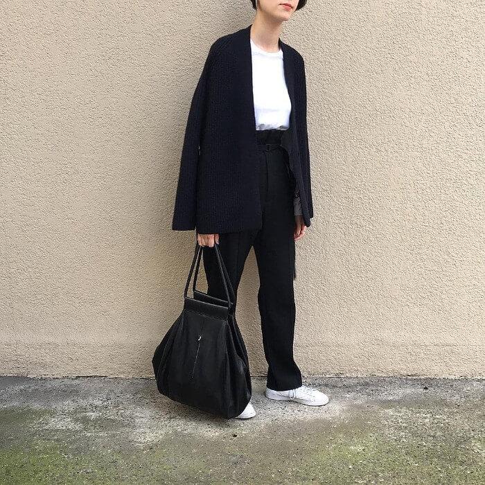 ジャケット×Tシャツインコーデ画像