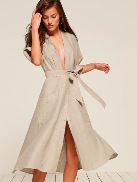 Reformation dame dress ワンピース