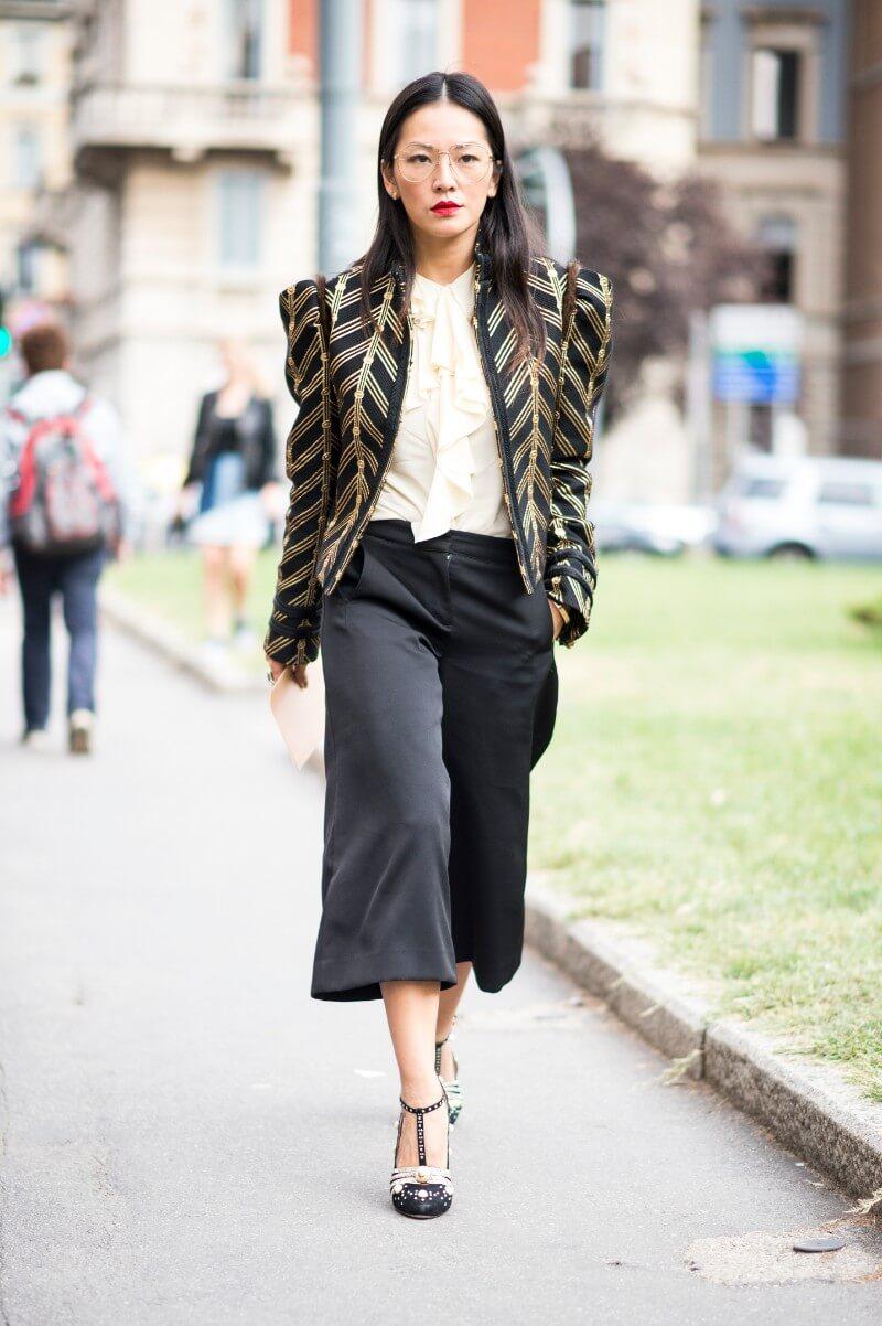 80年代スタイリッシュファッションのイメージ画像