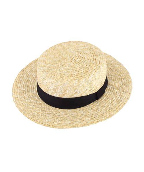 カンカン帽の説明画像