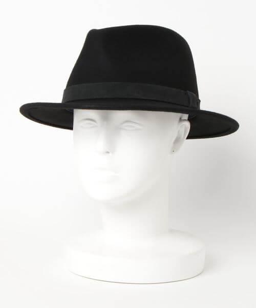 中折れ帽の説明画像